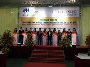 Ouverture de la 23e Vietnam Medi Pharm Expo à Hanoï