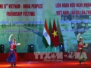 Le 8e Festival d'amitié populaire Vietnam-Inde à Can Tho
