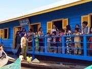 Inauguration d'une école pour enfants Viet kieu