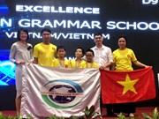 Concours Robothon 2016 : le Vietnam remporte les deux premier prix