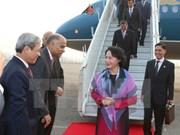 La présidente de l'AN du Vietnam entame sa visite officielle en Inde