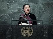Le Vietnam présent à la séance plénière de l'AG sur les océans et le droit de la mer