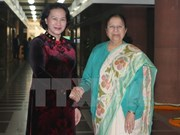 La présidente de l'AN du Vietnam termine sa visite officielle en Inde