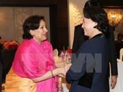 Nguyen Thi Kim Ngan rencontre les représentants du Fonds indien