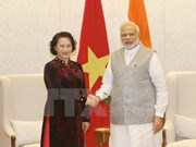 La présidente de l'Assemblée nationale du Vietnam en visite officielle en Inde
