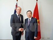 Le ministre de la Sécurité publique en visite de travail en Australie