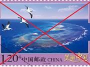 Le Vietnam dénonce le timbrage chinois de Truong Sa