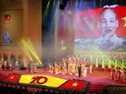 Meeting célébrant le 70ème anniversaire de la résistance nationale à Hanoi