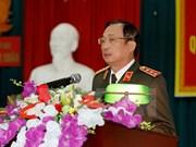 Une délégation du ministère vietnamien de la Sécurité publique à Lyon