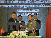 Premier dialogue de haut rang sur la sécurité Vietnam-Thaïlande