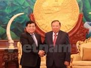Promotion des relations de coopération Vietnam-Laos