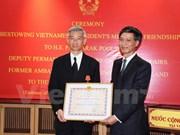 L'ancien ambassadeur de Thaïlande au Vietnam à l'honneur