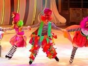 Cirque sur glace de l'Ukraine au Vietnam