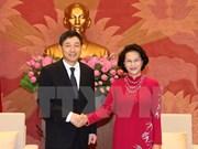 La présidente de l'AN reçoit les ambassadeurs de R. de Corée et d'Iran