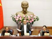 Le PM préside la réunion gouvernementale du dernier mois de 2016