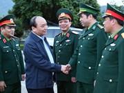 Le Premier ministre Nguyên Xuân Phuc en visite à Cao Bang