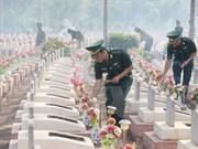 Accélération de la recherche des restes des soldats tombés pour la Patrie