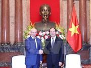 Le président Tran Dai Quang reçoit le Premier ministre du Bashkortostan