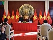 Le leader du PCV se rend à l'ambassade du Vietnam à Pékin