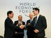 Le Premier ministre Nguyen Xuan Phuc au Forum économique mondial