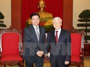 Le PM laotien affirme sa détermination à resserrer les liens avec le Vietnam