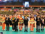 Ouverture du tournoi international de volley-ball féminin à Bac Ninh