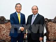 Le PM Nguyên Xuân Phuc reçoit le président du groupe sud-coréen KB Kookmin