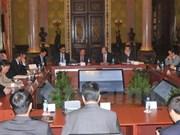 Vietnam et Mexique renforcent la coopération dans le secteur financier