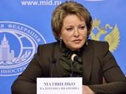 La présidente du Conseil de la Fédération russe attendue au Vietnam