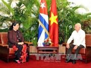 Activités de la vice-présidente permanente de l'AN du Vietnam à Cuba