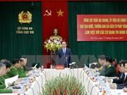 "Le président Tran Dai Quang : ""Il faut garantir l'application stricte de la loi"""
