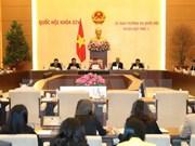 Ouverture de la 7ème session du comité permanent de l'AN