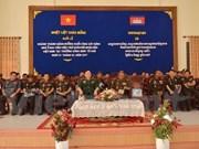 Inauguration d'un ouvrage de l'Ecole du génie du Cambodge financée par le Vietnam