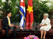 Les relations Vietnam-Cuba ne cessent de se développer