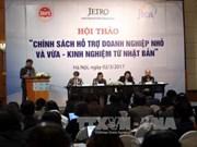 Le Vietnam et le Japon partagent des expériences d'assistance aux PME