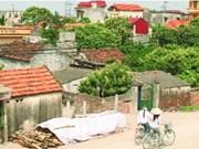 Construction d'un village de Nouvelle ruralité Vietnam-R. de Corée à Hau Giang