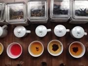 Le café et le thé vietnamiens à la Foire ICT 2017 de Singapour