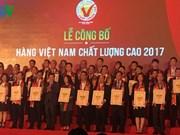 Les produits vietnamiens de qualité mis à l'honneur
