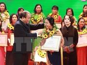 Le PM encourage la promotion de l'égalité des sexes et des start-up de femmes