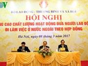 Améliorer l'envoi de travailleurs vietnamiens à l'étranger