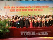 Le Festival international de l'agriculture du delta du Mékong ouvre ses portes