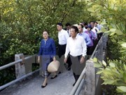 La présidente de l'AN laotienne Pany Yathotou termine sa visite au Vietnam