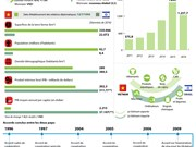 Les relations Vietnam - Israël en infographie