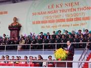 L'Armée des commandos célèbre son 50e anniversaire