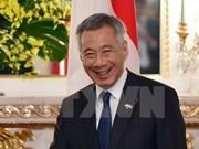 Le Premier ministre singapourien entame sa visite officielle au Vietnam
