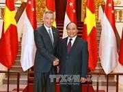Le Vietnam et Singapour approfondissent leur partenariat stratégique