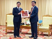 Promotion de la coopération entre Hô Chi Minh-Ville et Vientiane