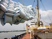 Baisse des exportations de riz au premier trimestre