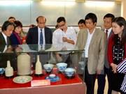 Exposition de 500 anciens objets de la Préhistoire au 19e siècle à Phu Tho