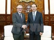 Le président Tran Dai Quang rencontre le PDG de l'AFP